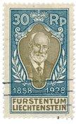 Liechtenstein 1928 - Michel 84 - Oblitéré
