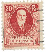 Liechtenstein 1925 - Michel 73 - Stemplet