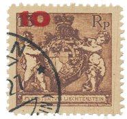 Liechtenstein 1924 - Michel 62B - Stemplet