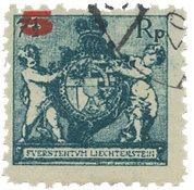 Liechtenstein 1924 - Michel 61A - Stemplet
