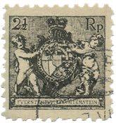 Liechtenstein 1921 - Michel 46A - Oblitéré
