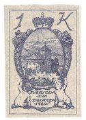 Liechtenstein 1920 - Michel 35U - Neuf