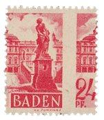 Tyskland Zoner 1947 - Michel 8 - Postfrisk