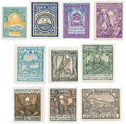 Armenia 1922 - YT 134/143 - Mint