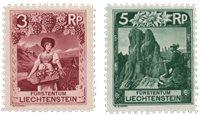 Liechtenstein 1930 - Michel 94/95 - Neuf