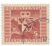 Liechtenstein 1947 - Michel 252 - Stemplet