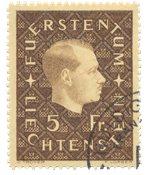 Liechtenstein 1939 - Michel 185 - Stemplet