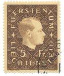 Liechtenstein 1939 - Michel 185 - Oblitéré