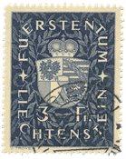 Liechtenstein 1939 - Michel 184 - Stemplet