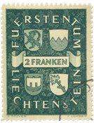 Liechtenstein 1939 - Michel 183 - Stemplet
