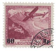 Liechtenstein 1935 - Michel 148 - Stemplet