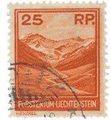 Liechtenstein 1933 - Michel 119 - Stemplet