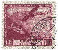 Liechtenstein 1930 - Michel 113 - Oblitéré