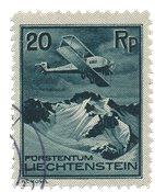 Liechtenstein 1930 - Michel 109 - Oblitéré