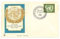 Allemagne 1955 - Michel 221 - Enveloppe Premier Jour (non écrit)