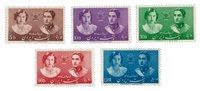 Iran 1939 - Michel 741/745 - Postfrisk