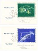 Østtyskland/DDR 1964 - 3 x FDC