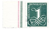 Tyskland 1958 - Michel 285Y - Stemplet