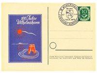 Allemagne 1953 - Carte postale