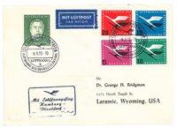 Allemagne 1954/1955 - Michel 201+205/208 - FFC