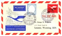 Allemagne 1955 - Michel 208+210 - FFC