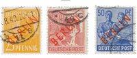 Allemagne/Berlin 1949 - Michel 27/28+30 - Oblitéré