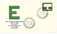Tyskland 1958 - Michel 294 - FDC