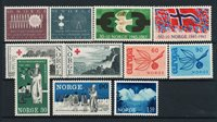 Norway - Year set 1965 complete - Mint