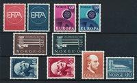 Norge - Årgang 1967 komplet - Postfrisk