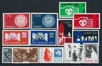 Norway - Year set 1971 complete - Mint