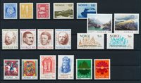 Norway - Year set 1974 complete - Mint