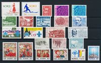 Norway - Year set 1975 complete - Mint