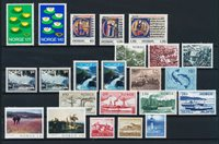 Norway - Year set 1977 complete - Mint