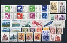 Norge - Årgang 1978 komplet - Postfrisk
