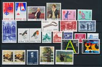 Norway - Year set 1982 complete - Mint