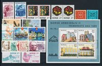 Norway - Year set 1986 complete - Mint