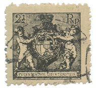 Liechtenstein 1921 - Michel 46B - Oblitéré