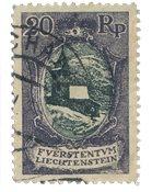 Liechtenstein 1921 - Michel 53 - Stemplet