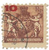 Liechtenstein 1924 - Michel 62A - Stemplet