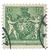 Liechtenstein 1924 - Michel 63 - Stemplet