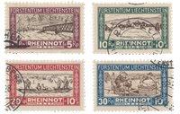 Liechtenstein 1928 - Michel 78/81 - Stemplet