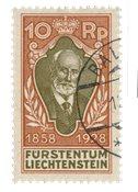 Liechtenstein 1928 - Michel 82 - Stemplet