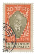 Liechtenstein 1928 - Michel 83 - Stemplet