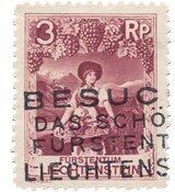 Liechtenstein 1930 - Michel 94 - Stemplet