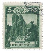 Liechtenstein 1930 - Michel 95 - Stemplet