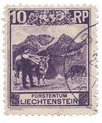 Liechtenstein 1930 - Michel 96 - Stemplet