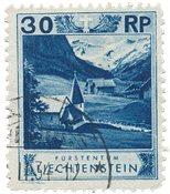 Liechtenstein 1930 - Michel 99 - Stemplet