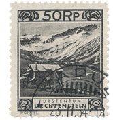 Liechtenstein 1930 - Michel 102 - Oblitéré