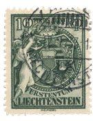 Liechtenstein 1932 - Michel 116 - Oblitéré