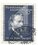 Liechtenstein 1938 - Michel 170 - Stemplet